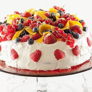 Summer Fruit Celebration Cake