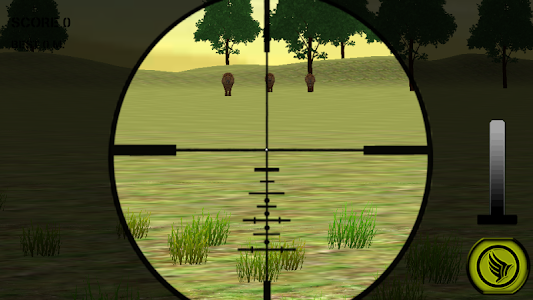 Wild Lion Hunting Sniper 3D screenshot 0