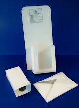 Photo: Dsplays, Caixas para perfumes ou outros produtos em frasco e envelope especial com 75mm de altura.