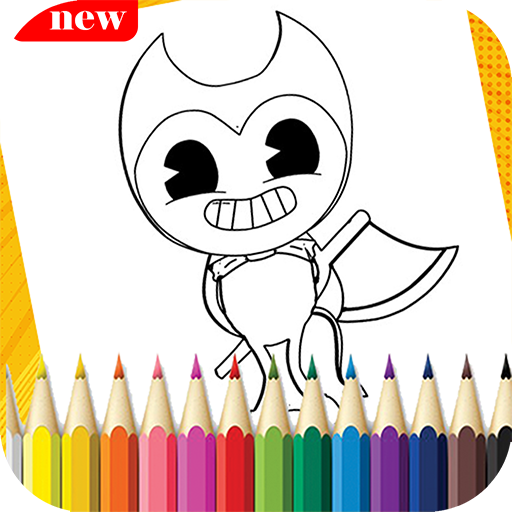 Bendy Coloring Book