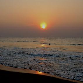 the sea by Prosenjit Biswas - Landscapes Sunsets & Sunrises (  )