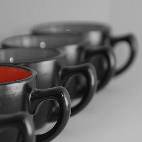 by Akshay Bhondokar - Artistic Objects Cups, Plates & Utensils