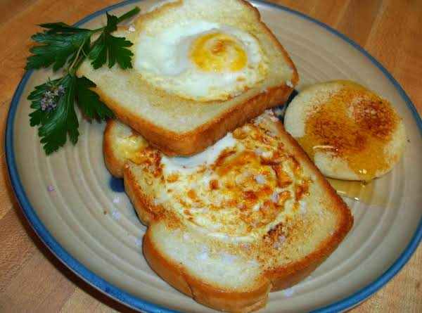 Eggs In A Frame Recipe | Just A Pinch Recipes