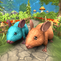Mouse Family Life Simulator: Animal Games icon