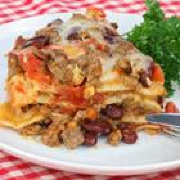Slow Cooked Taco Casserole Recipe