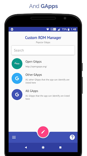 [ROOT] Custom ROM Manager  screenshots 2