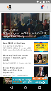 CBS 8 San Diego News- screenshot thumbnail