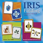 Photo: Iris Folding Compendium: Pt. 3 Gaasenbeek & Beauveser Forte Uitgevers 2006 Paperback 96 pp ISBN 9058776484 'Iris Folding for Celebrations', 'Colourful Iris Folding', and 'Iris Folding Stylish Greeting Cards'