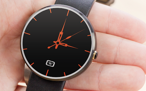 Decent Black for Moto 360 screenshot 0