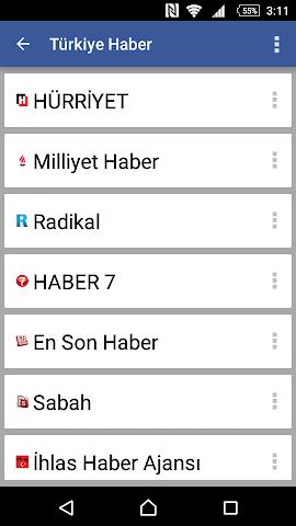 android Türkiye Haber Screenshot 0