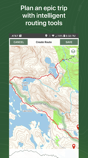 Gaia GPS: Hiking, Hunting Maps screenshot 4