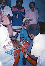 Photo: Hommage à Chan à la Casa del Caribe. Quinto : Monguito - janvier 1993