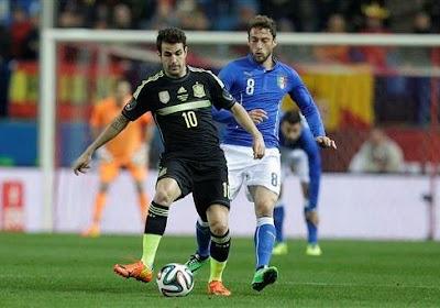 Soriano remplace Fabregas avec la Roja