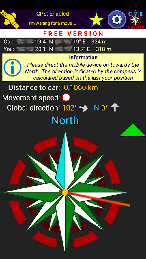 Car Finder (GPS)- screenshot