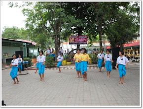 """Photo: การแสดงของนักเรียน ดนตรีพื้นบ้าน """"โปงลาง"""""""