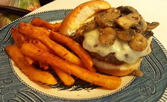 Magnificent Mushroom Swiss Burgers! Recipe