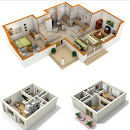 3D Small House Plans v 1.0 app icon