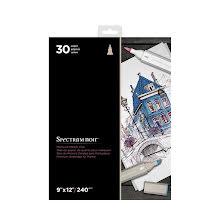 Spectrum Noir 9x12 Premium Marker Paper Pad -White