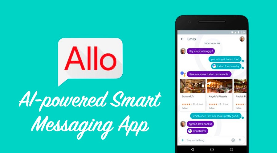 Image result for google assistant in allo