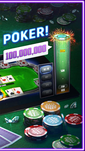 Poker City - Texas Holdem 2.1.0 screenshots 2