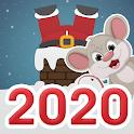 Новогодние Поздравления - 2020 год (крысы) виджет icon