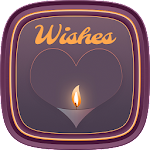 Whishes With Candle Launcher Icon