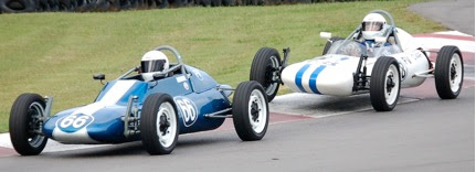 Photo: John Gaudette, (66), enroute to first Formula Vee win.  Hallett Motor Racing Circuit October 6, 2007 Submitted by Mike Callahan