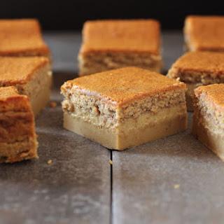 Gingerbread Magic Cake Bars