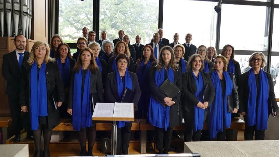 Atuação memorável do Coro da Misericórdia de Lamego no Santuário de Fátima