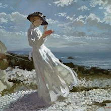 "Photo: William Orpen, ""Grace legge ad Howth Bay"" (1900)"
