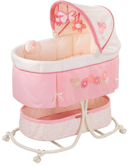 7. Summer Infant Soothe & Sleep Lila Bassinet