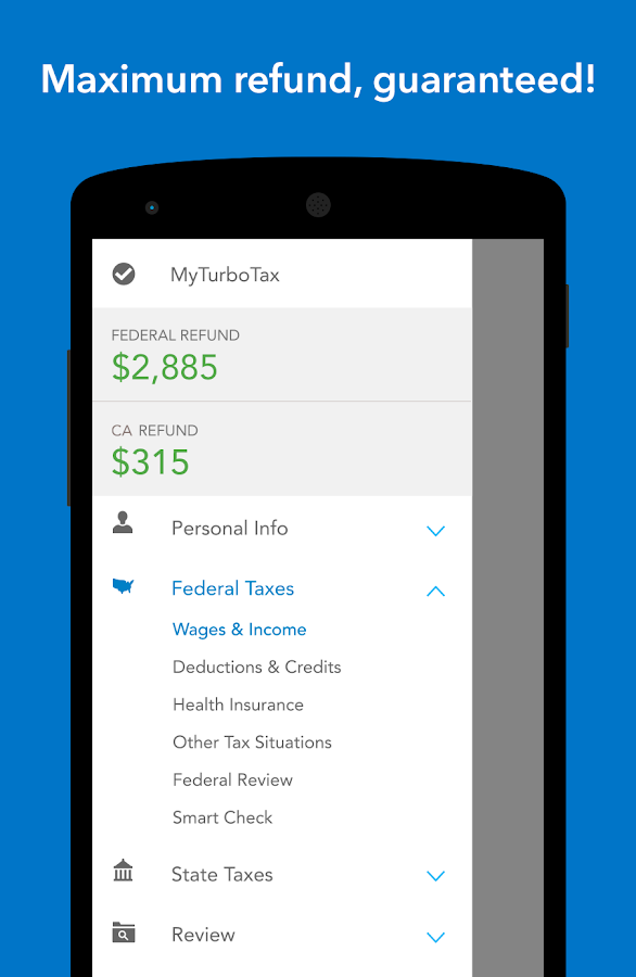 TurboTax Tax Return App- screenshot