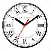 Roman Analog Clock Live Wallpaper-7 Android APK Download Free By Style-7