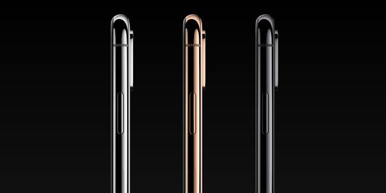 iPhone Xs colours.