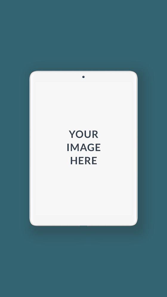 Vertical Tablet Mockup - Facebook Story Template