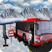 Snow Christmas Bus Simulator