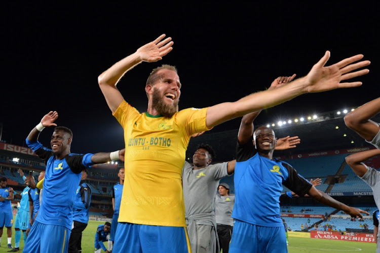 Mamelodi Sundowns' striker Jeremy Brockie. File photo.