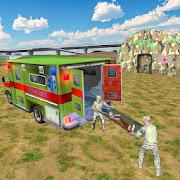 الجيش الإنقاذ محاكي: سيارة إسعاف لعبة القيادة APK