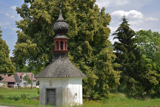 Photo: Przydrożna kapliczka wKladrubech