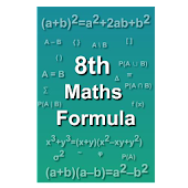 8th maths formula