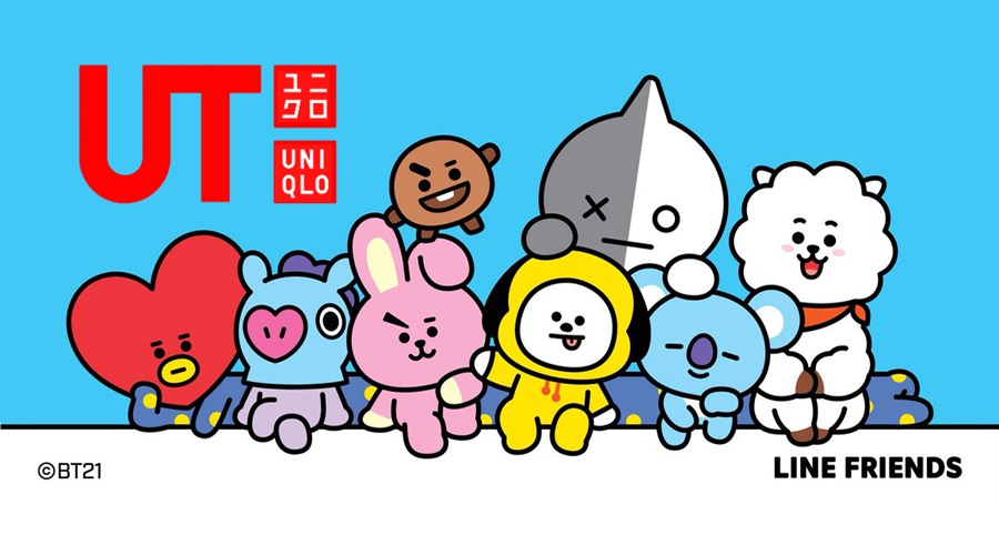 uniqlo bt21 collab