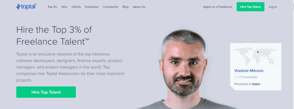 Toptal Situs Freelance