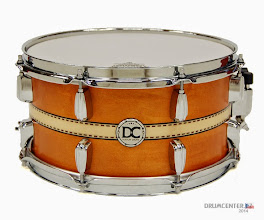 Photo: DC-drums Custom shop - Solid Maple 13 x 6""