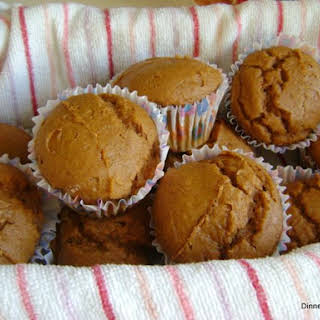 2 Ingredient Pumpkin Muffins with Spice Cake Mix.