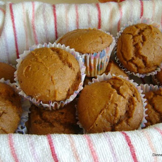 2 Ingredient Pumpkin Muffins with Spice Cake Mix.