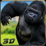 Crazy Ape Wild Attack 3D Icon