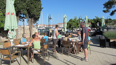 Photo: De jeugdherberg van Zadar