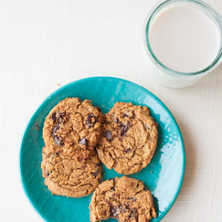 Chocolate Chip Almond Butter Cookies.