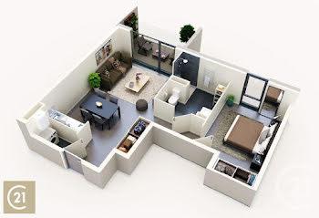 appartement à Saint-Jory (31)