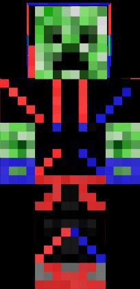 Minecraft Wallpaper Creeper 3d Http Www Minecraftskins Com 3d Bigcombine Skin